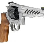 Ruger Super GP100 Competition, Adjustable rear and front sights help create a competition-grade sight system.