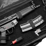 Classified a pistol, the carrying case makes an especially handy package.