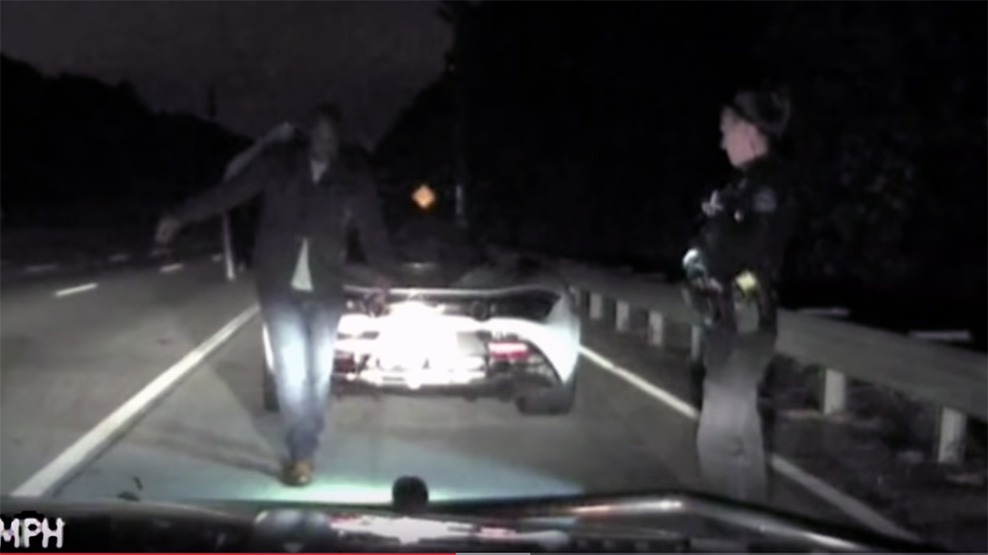 Alpharetta Police chased a McLaren at speeds up to 155 mph.