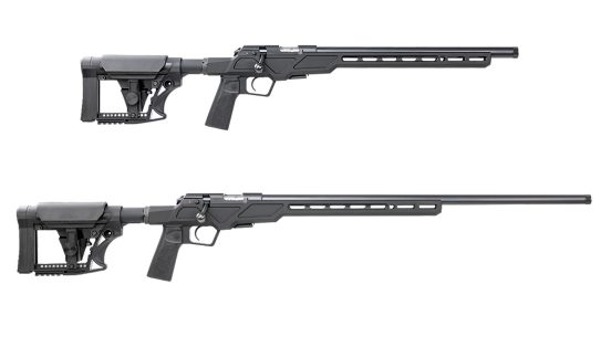 With high-end components and an aluminum chassis, the 457 Varmint Precision Chassis excels at long-range.