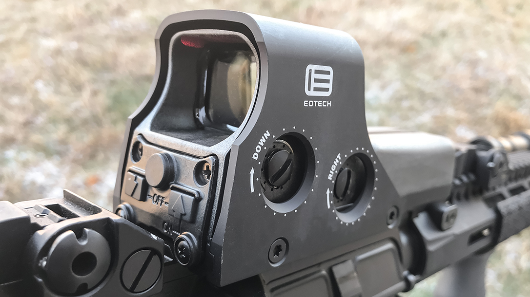 Rugged enough for military use and lightning quick in target acquisition, the famed EOTech 512 Holographic Weapon Sight remains a top choice for carbines.