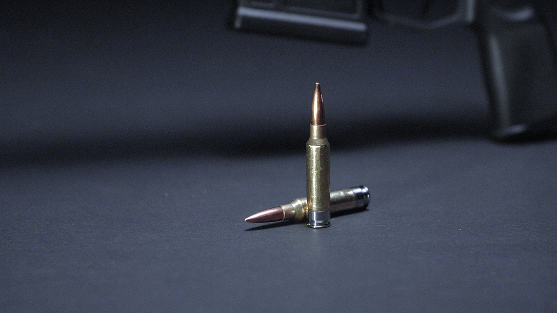The 277 SIG Fury hunting load launches a 140-grain at 2,950 fps.