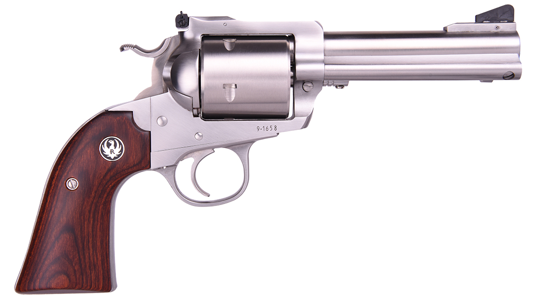 The Lipsey's Ruger Bisley .454 Casull features stainless steel construction.