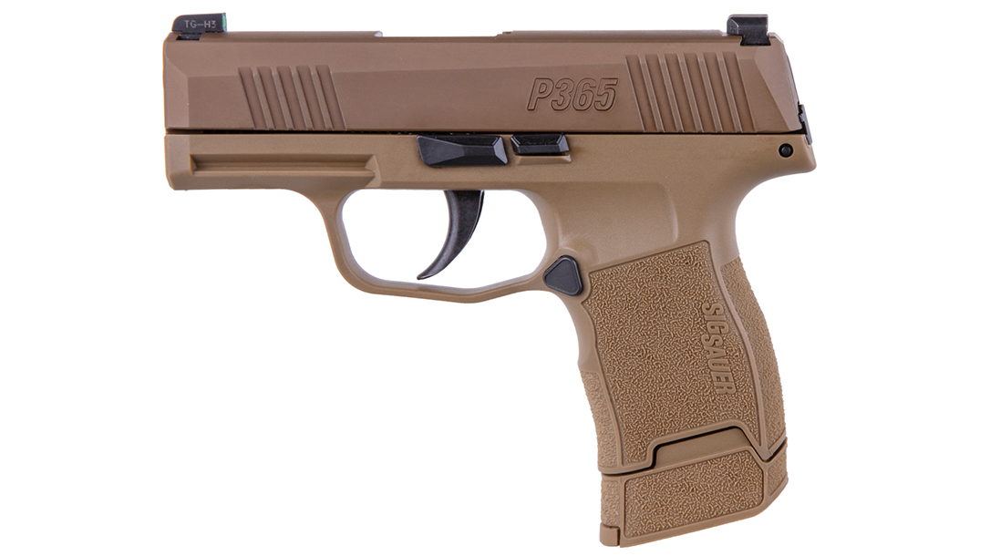 The Lipsey's SIG Sauer P365 NRA pistols comes with a special serial number.