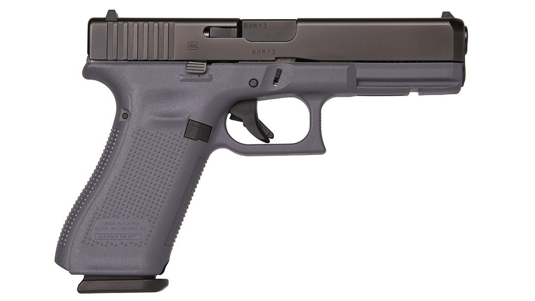 The Lipsey's Glock provides the only gray frames from the Glock factory.