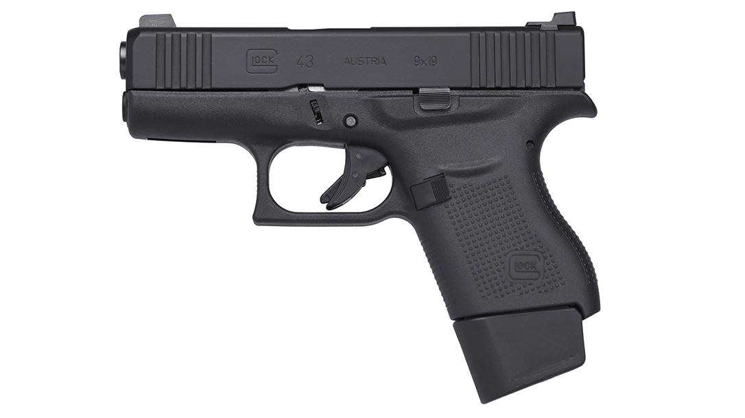 The Glock 43 takes features desired by Delta Force legend Larry Vickers.