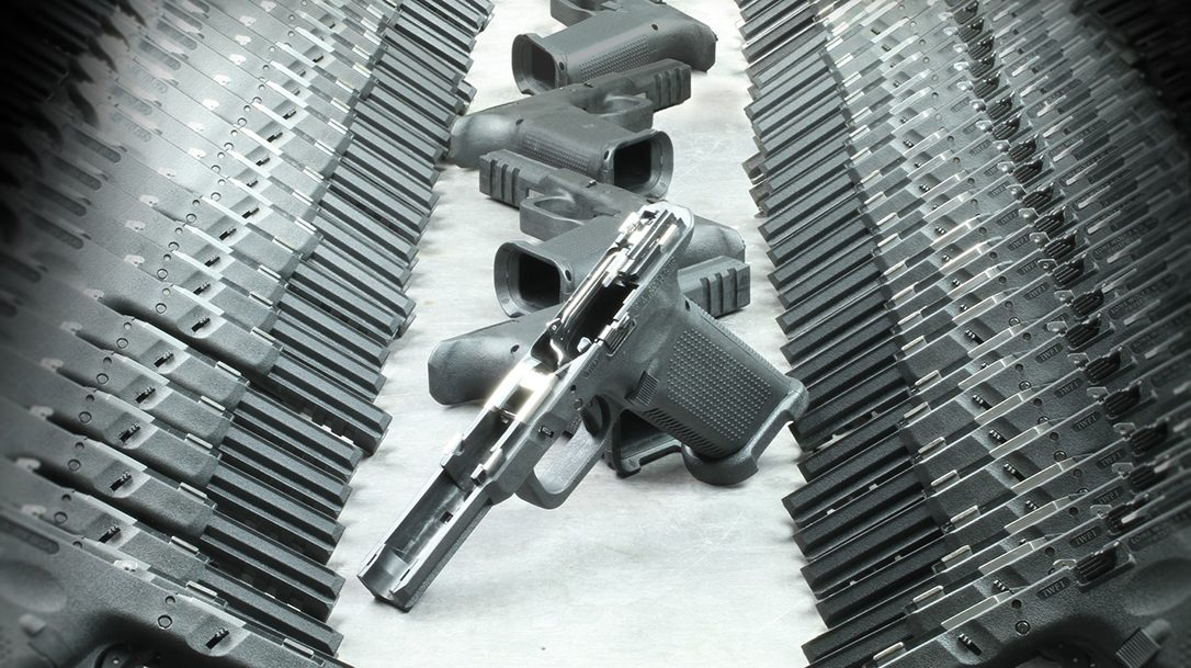 The Timberwolf Full Size frames fit Glock GEN 3 and 4 slides.