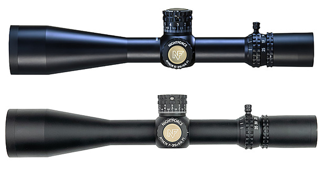 US SOCOM selected two different variants of Nightforce riflescopes for snipers.