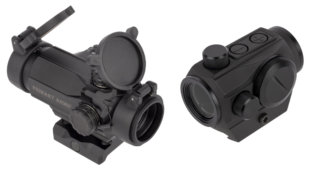 Pasadena Police Department recently approved two Primary Arms optics.