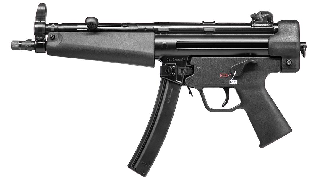 Heckler & Koch SP5, Heckler & Koch MP5, civilian variant, left