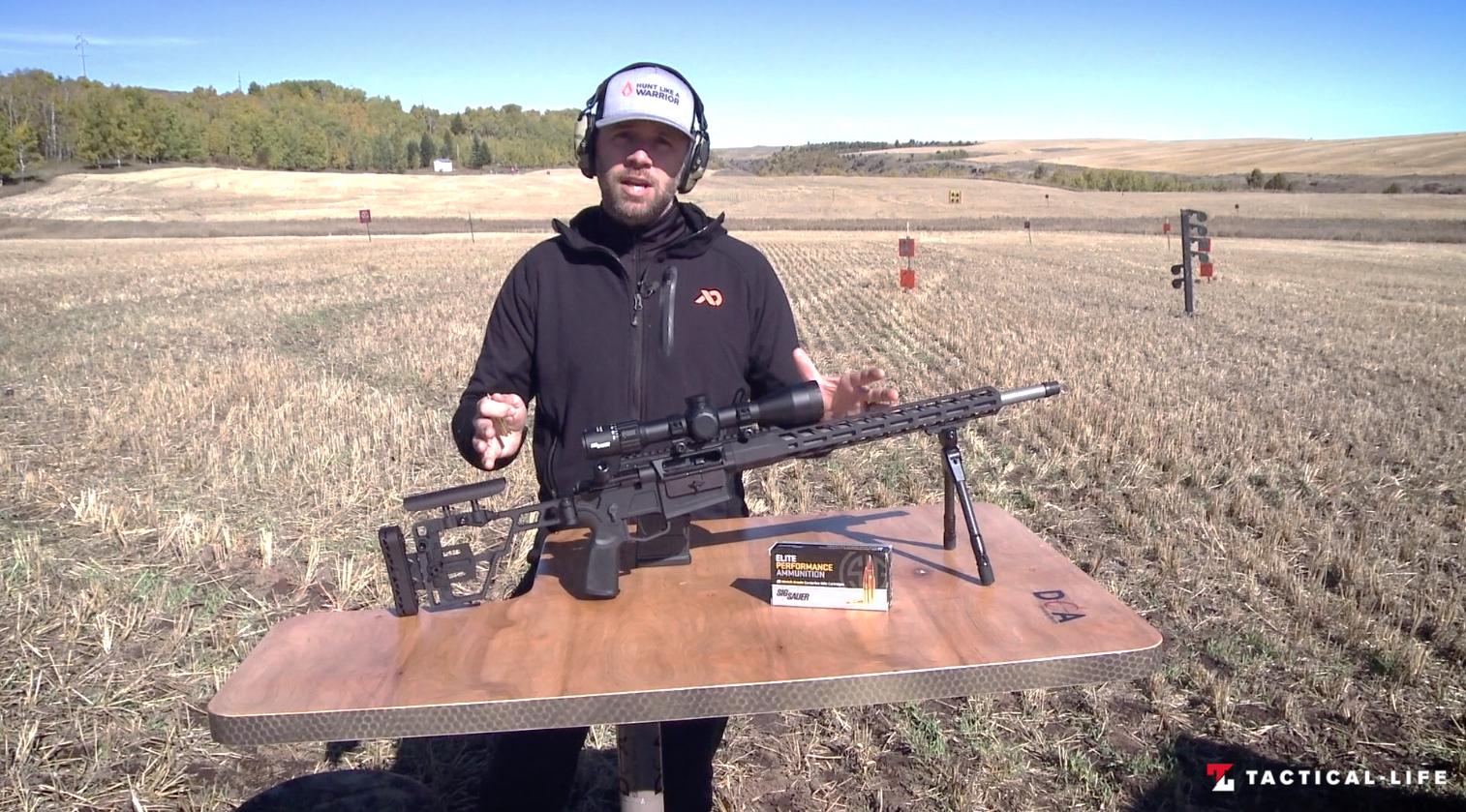 SIG Sauer Cross Bolt Action Rifle, SIG Cross Bolt Action Rifle, test