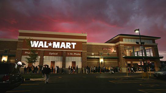 The Walmart gun ban infringes upon free citizens.