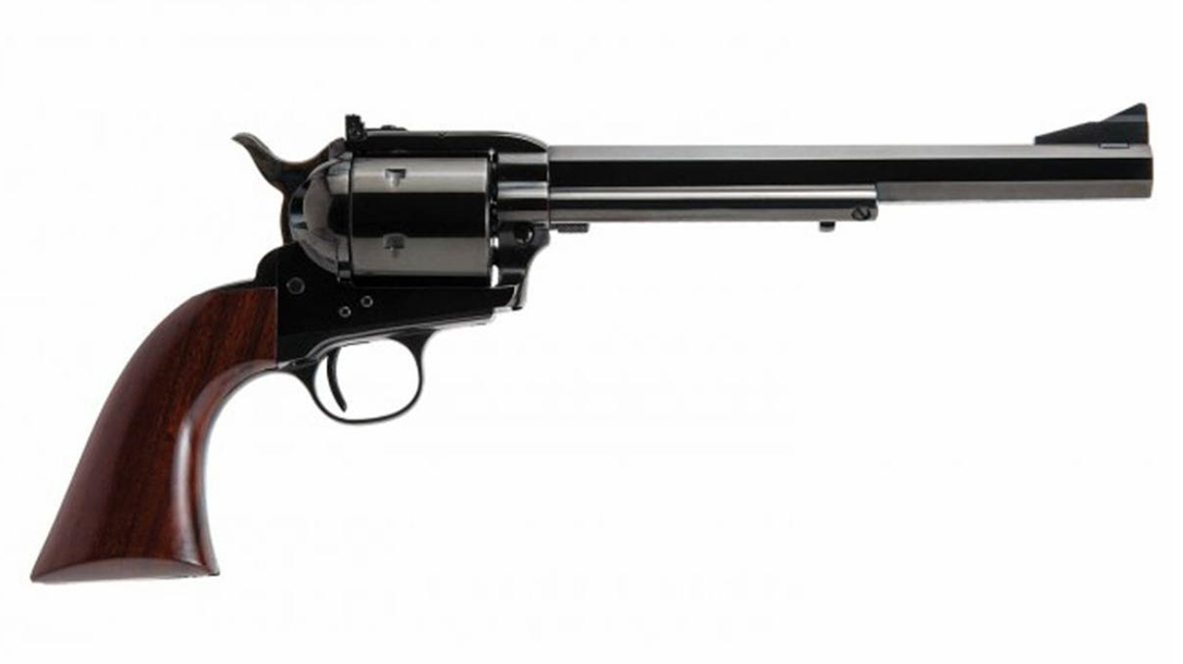 The new Bad Boy takes the 10mm cartridge into the classic Single Action Army design.