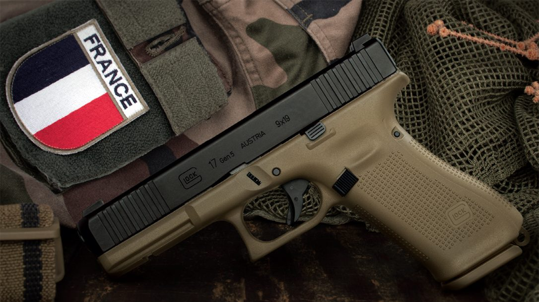 Glock won a major contract to outfit the French Army with Gen5 G17 pistols.
