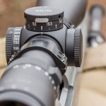 Locked turrets provide a welcome addition on this hunting scope.