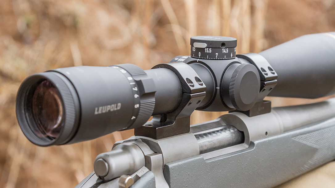The 30mm tube enables mounting extremely close to the bore.