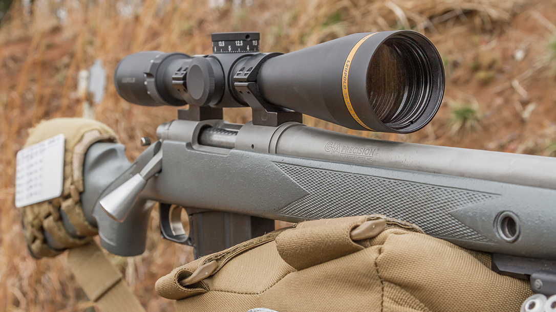 The 44mm object lens provides enough performance for nearly every task.