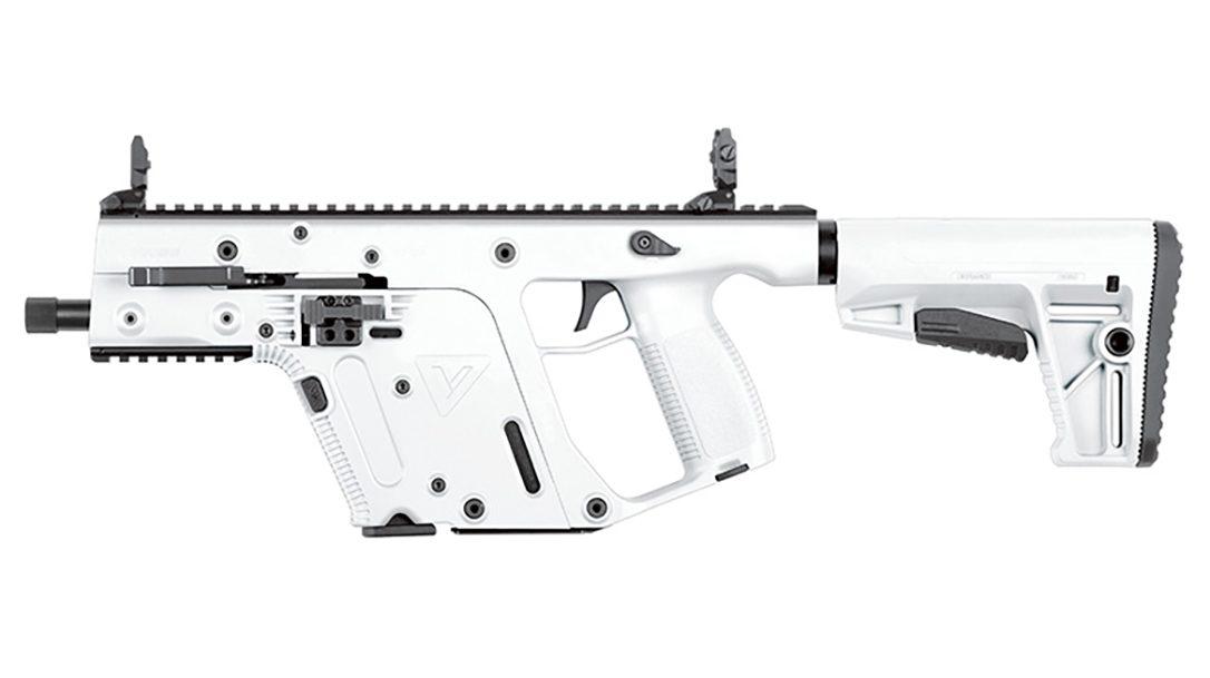 KRISS Vector 22 LR, The rimfire KRISS Vector in .22 LR looks like a storm trooper blaster.