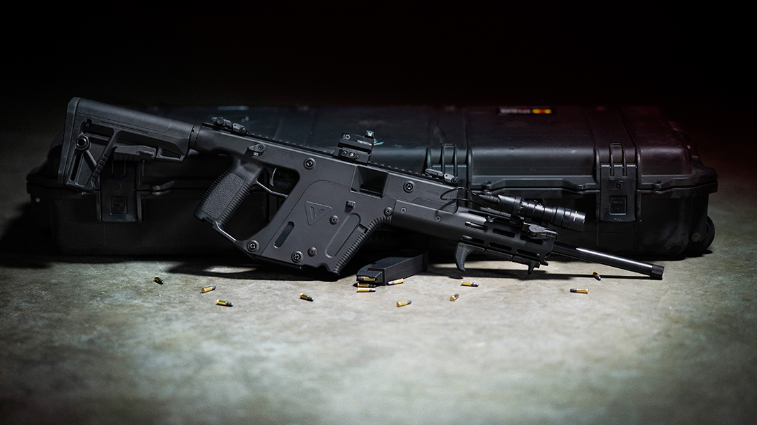 The Kriss Vector 22 LR offers a great training for fun plinking variant.