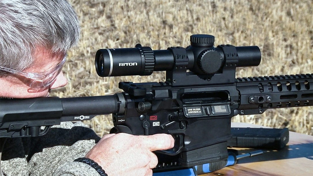 Designed by a Navy SEAL sniper, the Riton X7 Tactix 1-8x28 delivers.