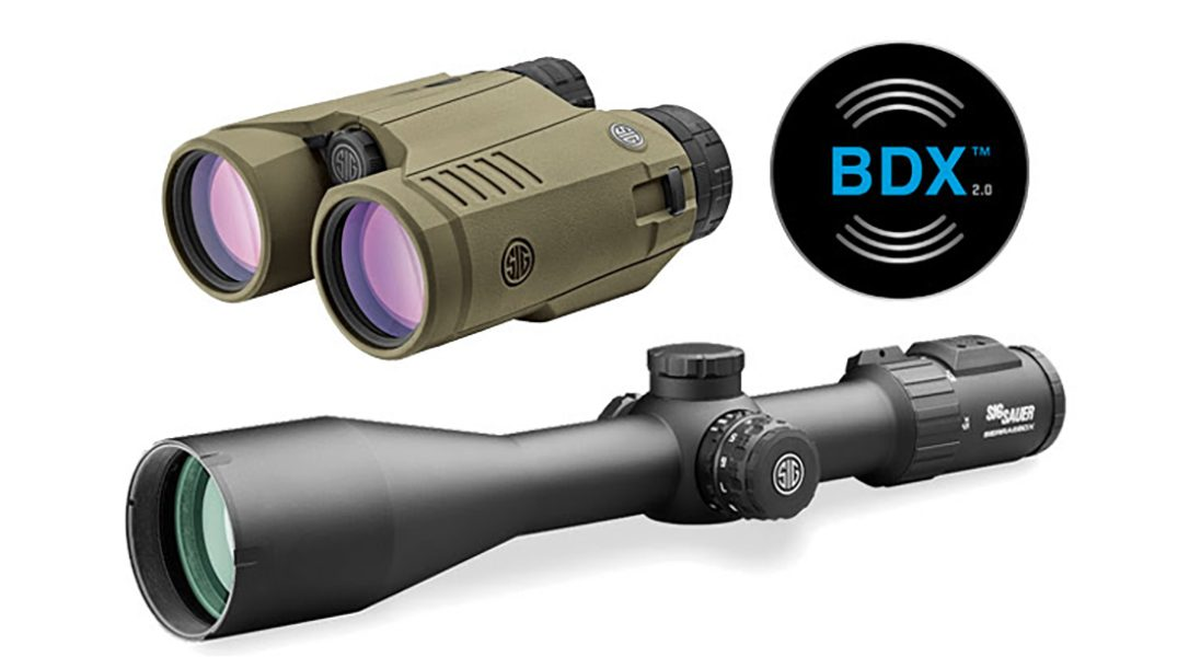 The updated SIG BDX 2.0 is now easier to use than ever before.