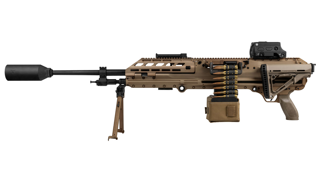 SIG MG 338 Machine Gun, USSOCOM, 338 Norma Mag, folding stock