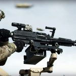 The SIG MG 338 fires 338 Norma Mag at 600 rounds per minute.