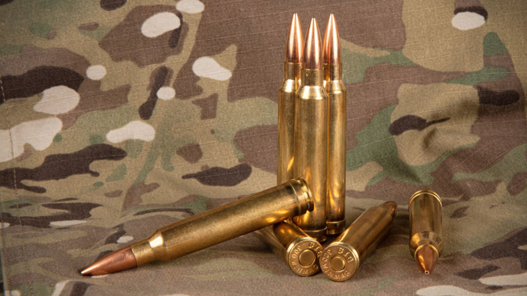 SIG ammunition landed a coveted military contract for .300 Win. Mag.