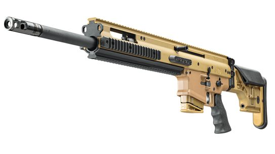 With ample rails space and sections of Picatinny rail, riflemen can setup the 20S in multiple sniping configurations.