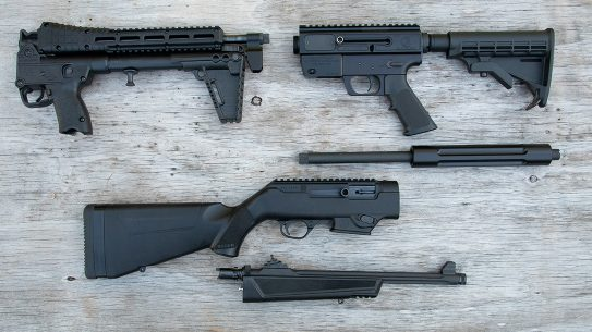 9mm Takedown Carbine, takedown pistol caliber carbines
