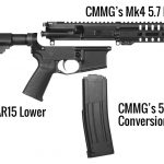 Simply buy an upper receiver and CMMG's magazine to transform your mil-spec AR.