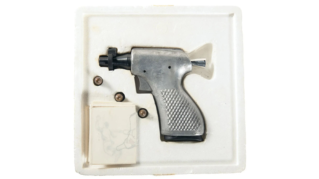 Designed in the early 1960s, the deer gun was intended by the CIA to be supplied to guerilla fighters in South Vietnam.
