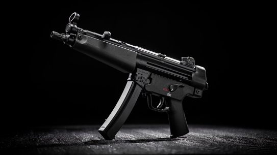 The MP5 returns in the form of the HK SP5 pistol.