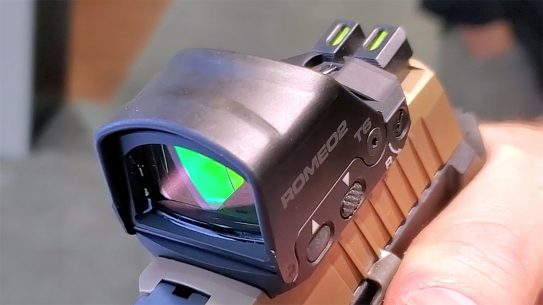 The updated SIG Romeo 2 provides tremendous versatility in optic setup.
