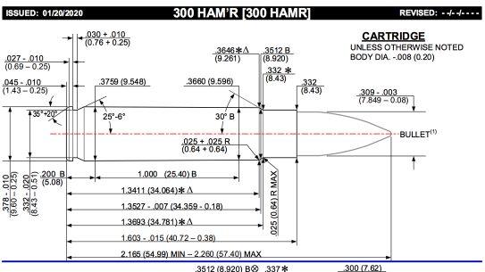 SAAMI recently accepted Wilson Combat's 300 HAM'R.