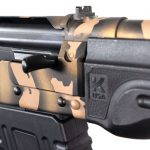 With detachable magazine design, and able to utilize Saiga accessories, the Komrad is versatile.
