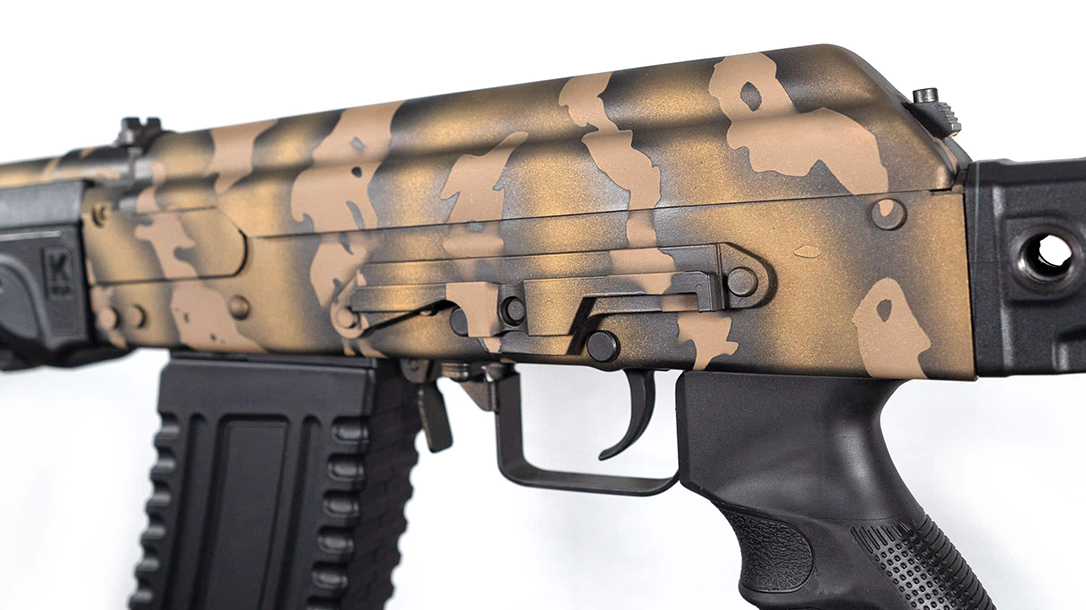 Built in the U.S., the KUSA Firearm is based on the Saiga design.