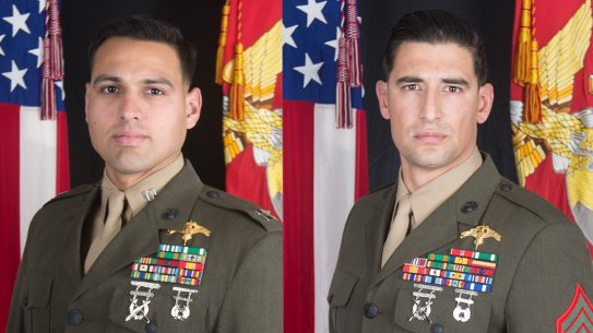 Capt. Moises A. Navas and Gunnery Sgt. Diego D. Pongo were killed in action in Iraq March 8.