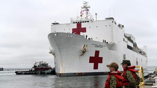 With the coronavirus expected to spread, creating a massive impact on medical capabilities, the U.S. Navy will deploy hospital ships to NYC and West Coast.