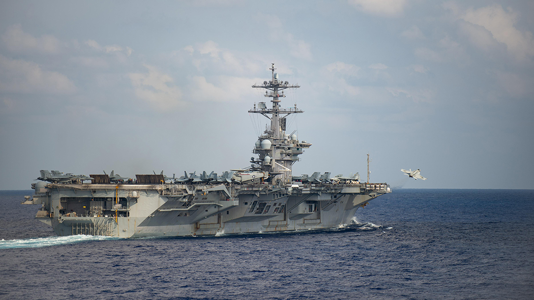 An outbreak of COVID-19 sidelined the USS Theodore Roosevelt to port in Guam.