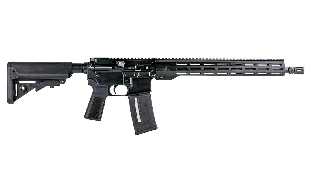The Zion 15 includes a 16-inch barrel and 15-inch free float handguard.