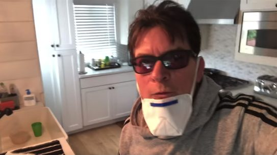Black Rifle Coffee Quarantine music video, Charlie Sheen