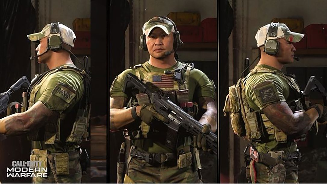 Tu Lam joins Call of Duty Modern Warfare Season 3 as a character.