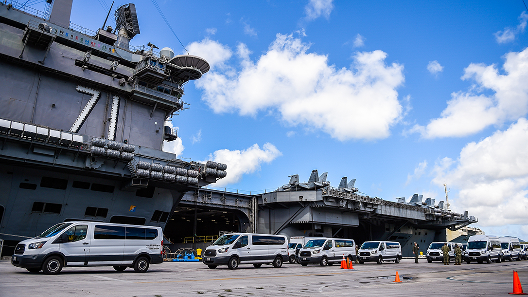 A USS Theodore Roosevelt Sailor has died from COVID-19 in Guam.