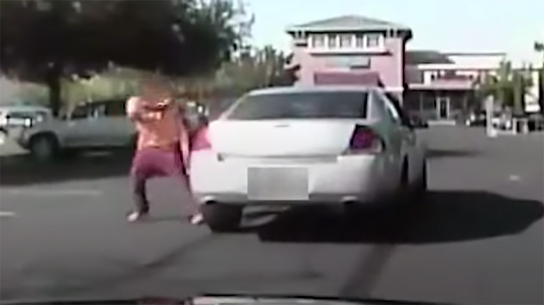 Sacramento Police engaged in a wild shootout with an attempted murder suspect.