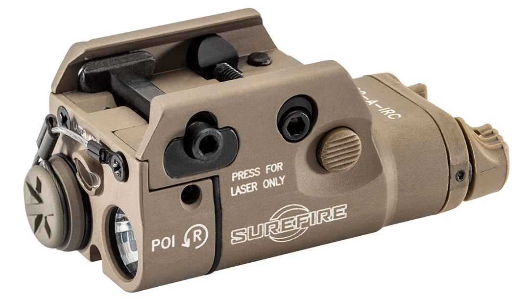 The new SureFire XC2-IRC just became the company's smallest IR light-laser combo.