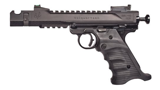 The Volquartsen Habu dramatically upgrades the Ruger MK IV platform for competition.
