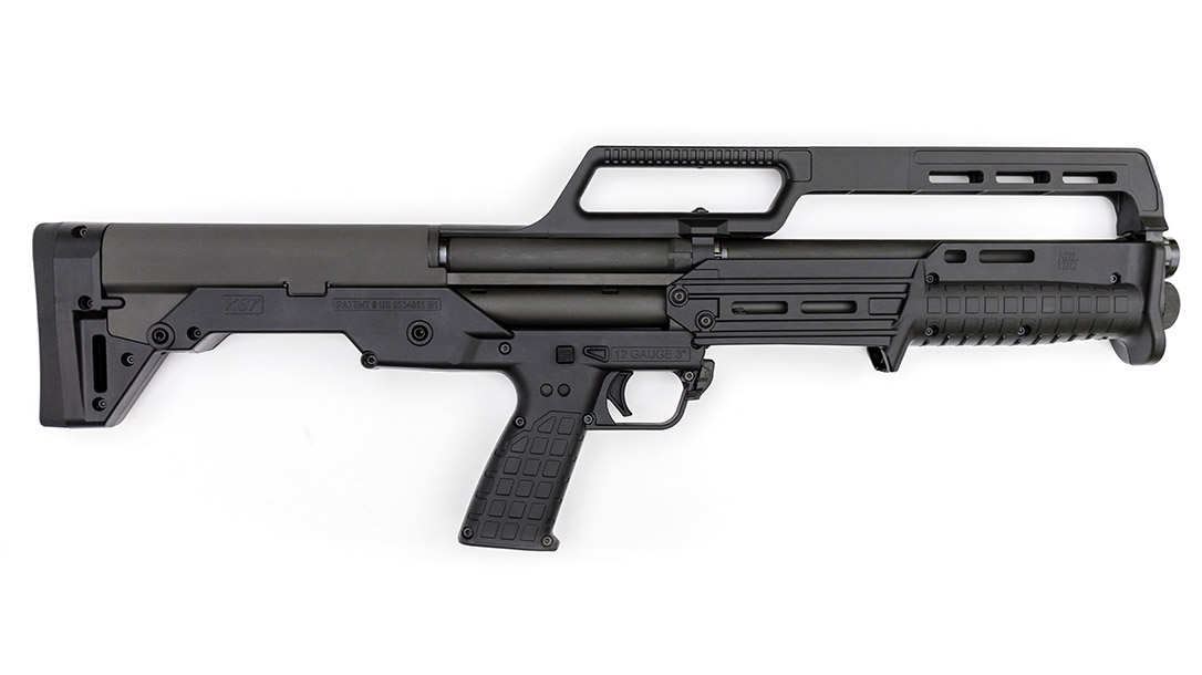 With a 26.1-inch barrel, the KS7 comes incredibly compact for close work.