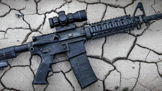 Providing a more tactical look and feel, but with MOA or BDC options available, the blacked-out Leupold RDS brings versatility for duty or sport.