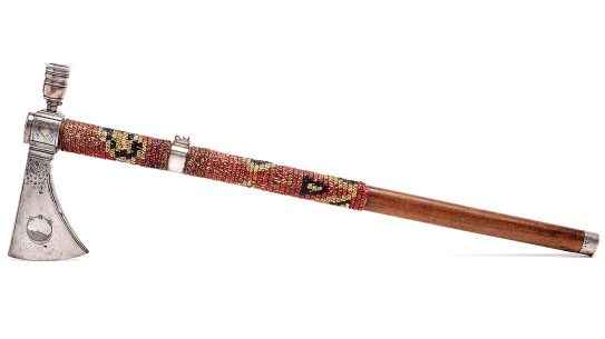A Revolutionary War Tomahawk brought $664k at auction recently.
